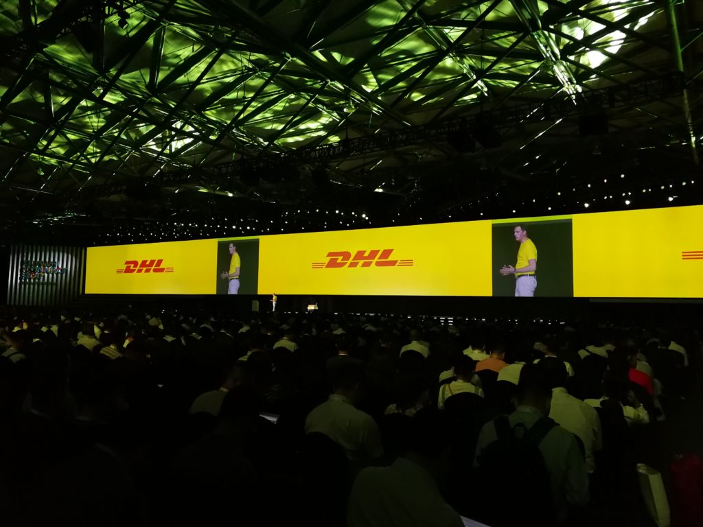 DHL at Huawei Connect